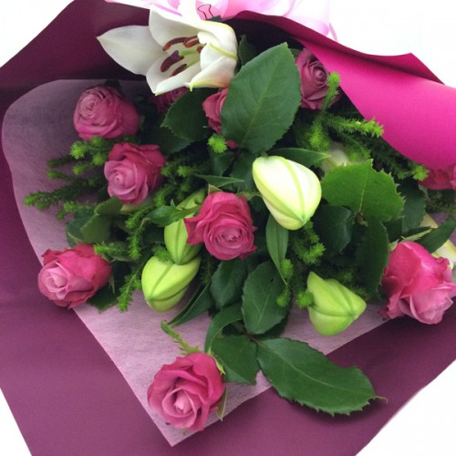 Bouquet Pink Roses