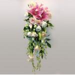 Blushing Pink Bridal Bouquet